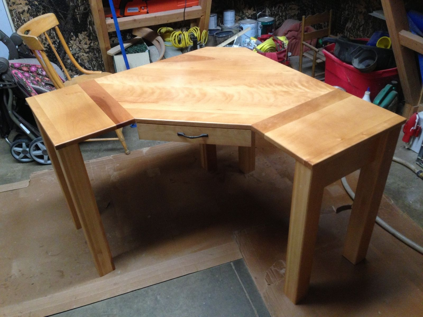 Hand Crafted Custom Corner Desk By Black Swamp Furnishings Custommade Com