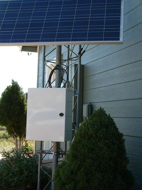 Custom Made Sierra Nevada Brewing Solar Powered Wireless Security