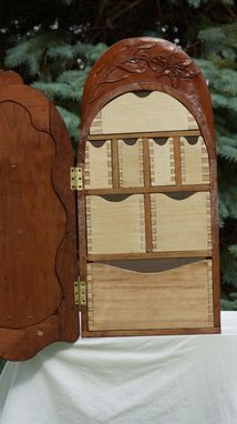 Custom Made Queen Of Poland Wall Cabinet