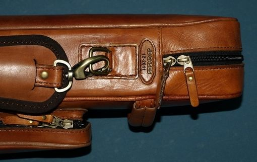 Custom Made Wall Leather Poolstick Case