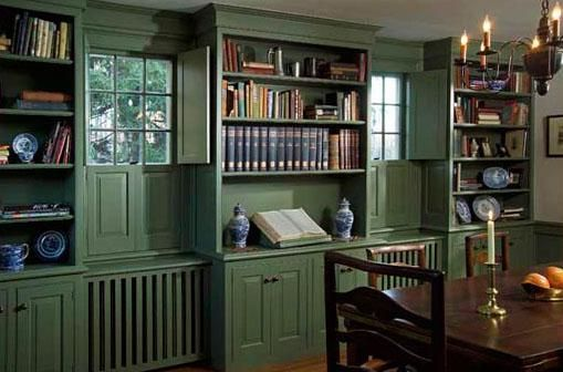 Custom Made Library Bookshelves