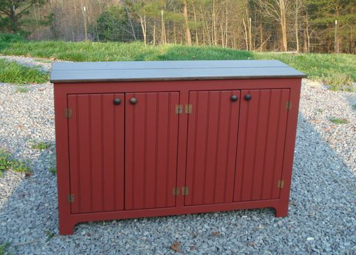 Custom Made 4 Door Crab Apple Sideboard
