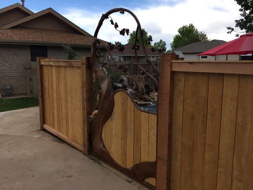 Custom Made Custom Steel Gate