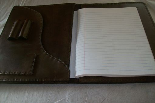 Custom Made Custom Leather Notebook Cover