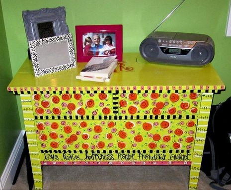 Custom Made Polka Dot Dresser