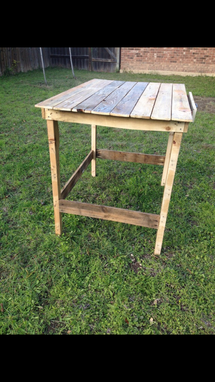 Custom Made Rustic Custom Desk