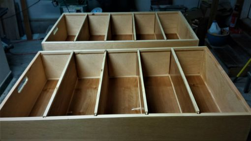 Custom Made Underbed Rolling Storage Units
