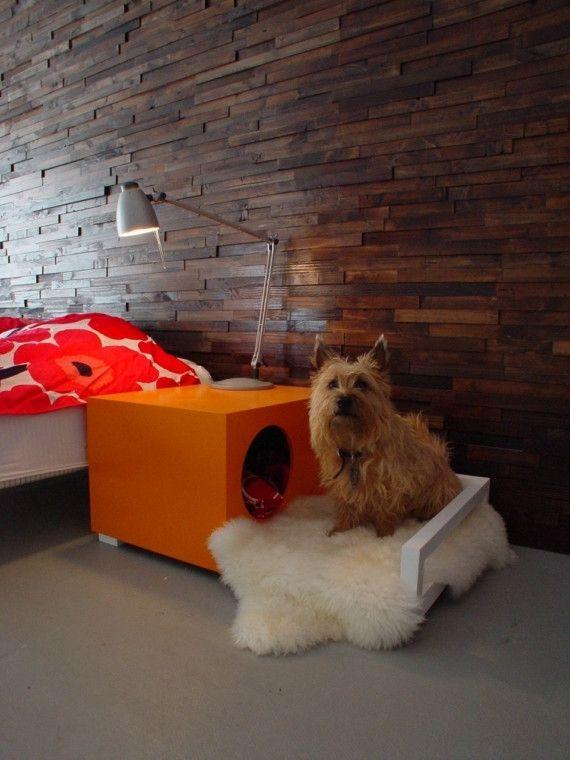 Custom Made Indoor Dog House Bedside Table