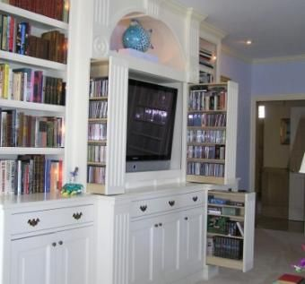 Custom Made Cline Entertainment Center