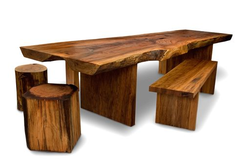 Custom Made Slab Conference Tables