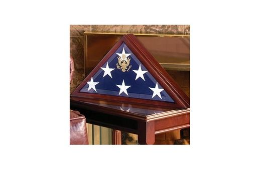 Custom Made Flag Case Display, Case To Fit Burial Flag