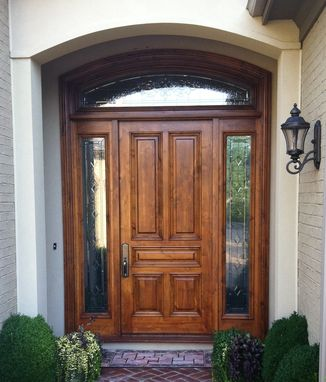 Custom Made Front Door And Entrance Refinishing