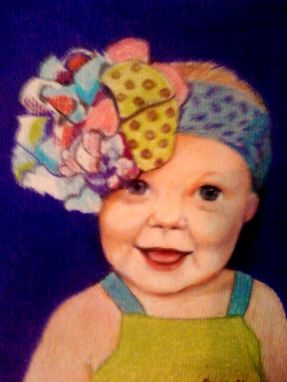Custom Made Colored Pencil Portrait