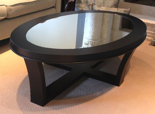 Custom Made Oval Coffee Table