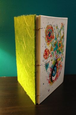"Custom Made Pixie Cold Limited-Edition Licensed ""Flowers"" Sketchbook 9x6.5"""