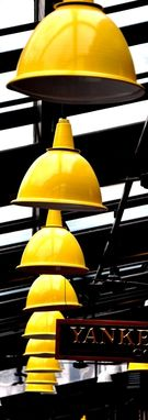 Custom Made Fine Art Photograph Of Yellow Lamps