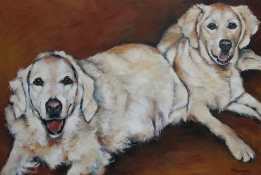 Custom Made Two Goldens
