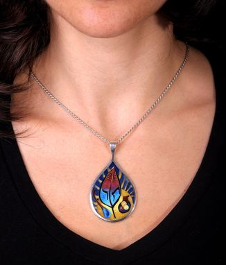 Custom Made Hametz Pendant - Emblem Design