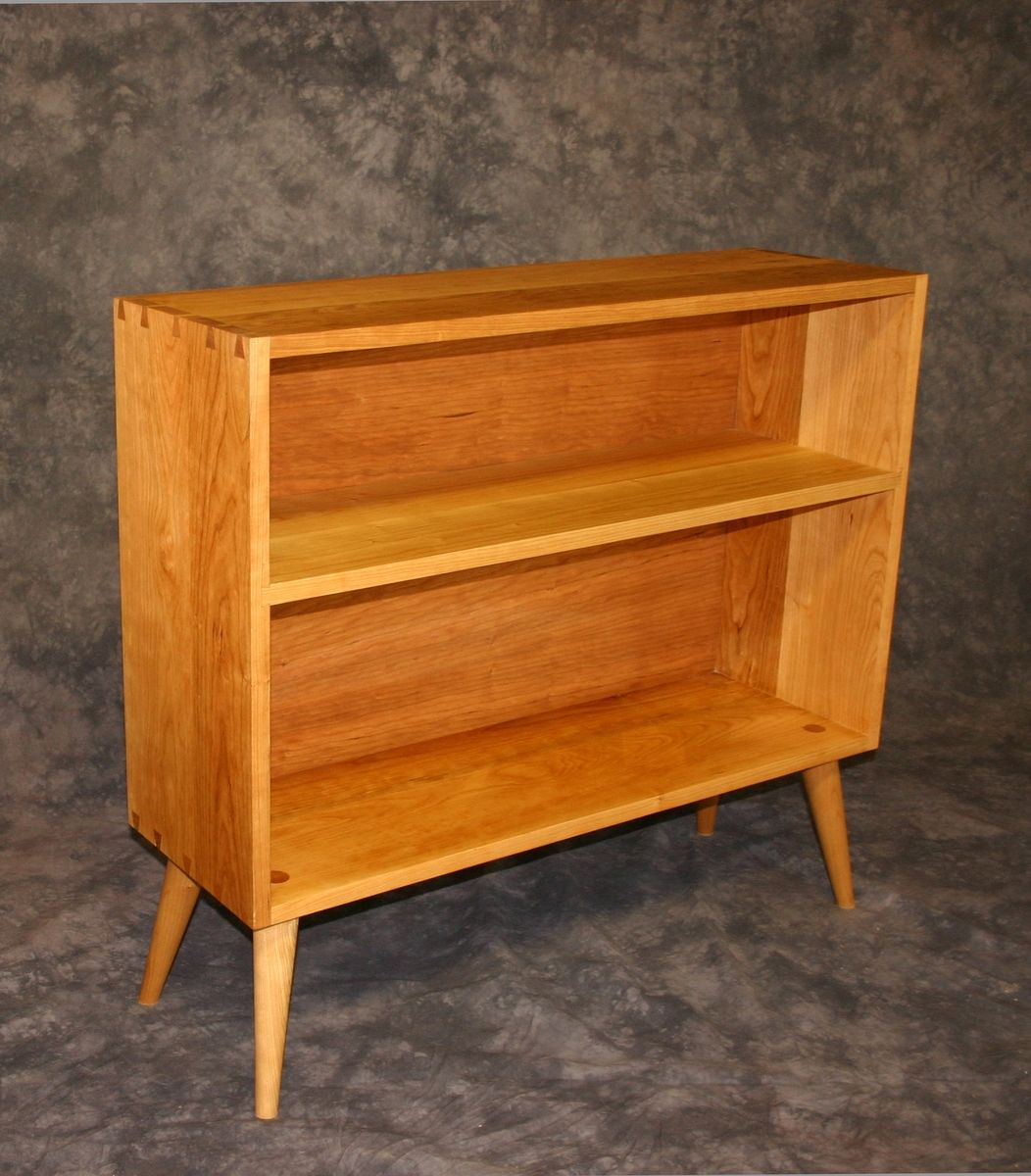 ^ Hand Made Modern herry Bookshelf by Brian horp ustomMade.com