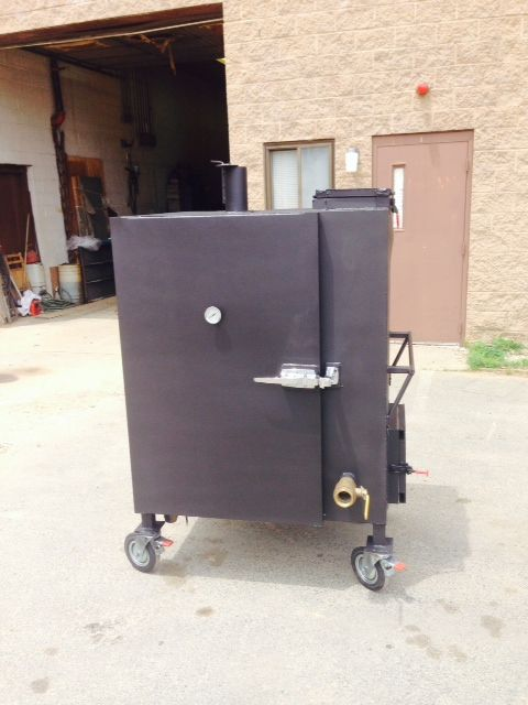 Hand Made Custom Bbq Smoker Trailers By Artisan Grill And