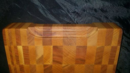 Custom Made End Grain Cutting Board
