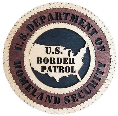 Custom Made U.S Department Of Homeland Security Wall Tribute, U.S Department Of Homeland Security Hand Made Gift