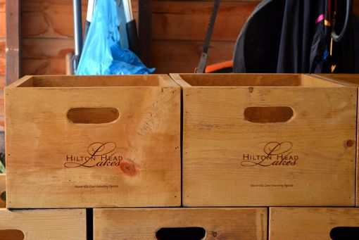 Custom Made Wine Boxes