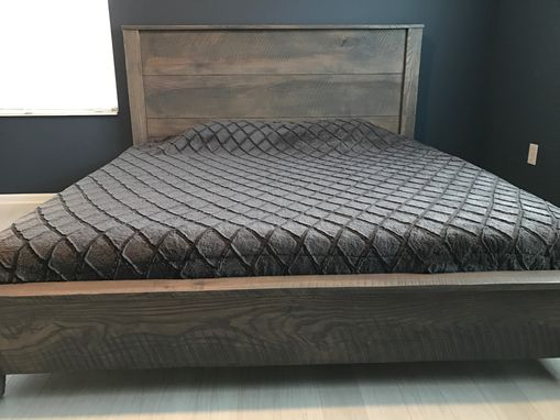 Custom Made Reclaimed Platform Bed