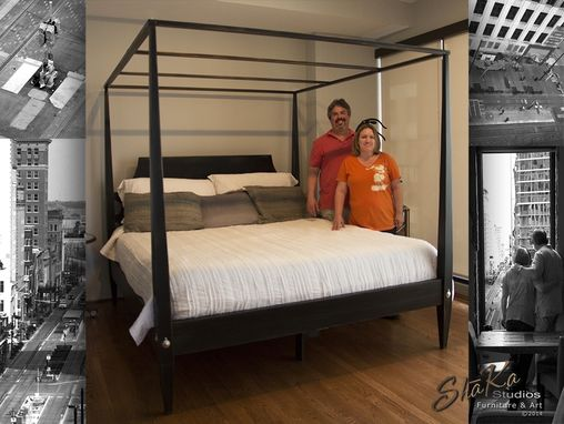 Custom Made Houston Four Post Canopy Bed