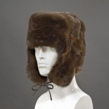 Custom Made Otter Fur Trooper Hat