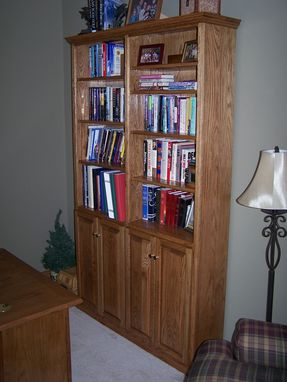 Custom Made Entertainment Centers And Bookcases