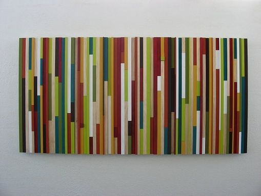 Custom Made Modern Wood Wall Sculpture