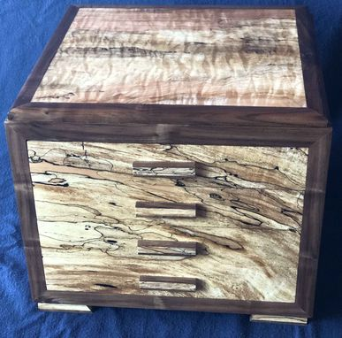 Custom Made Handcrafted Four Drawer Jewelry Box