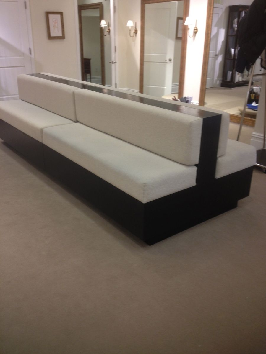 Custom Made Two Sided Sofa By Bmc Millwork Company Inc