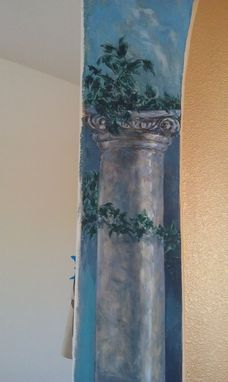 Custom Made Art, Mural, The Antique Columns Arch