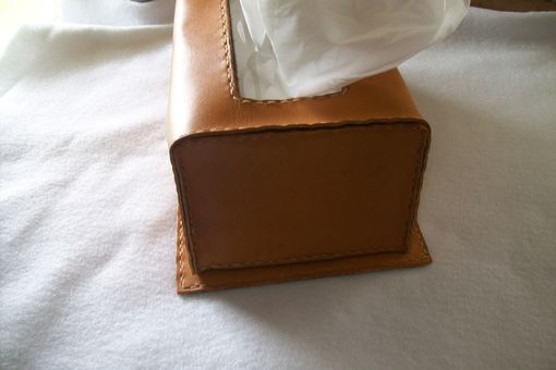 Custom Made Custom Leather Kleenex Box