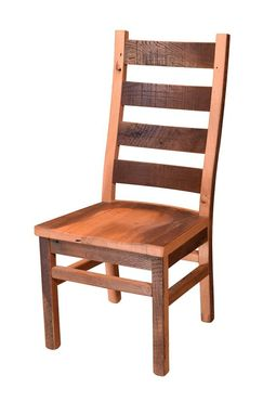 Custom Made Reclaimed Wood Ladderback Chair