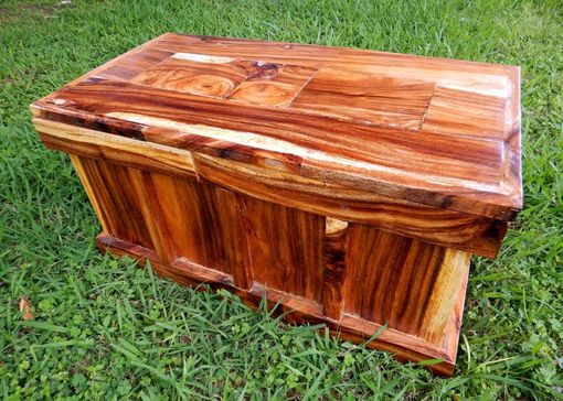 Custom Made Monkey Pod Chest