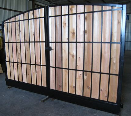 Custom Made Privacy Style Gates
