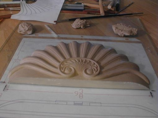 Custom Made Carved Furniture Elements