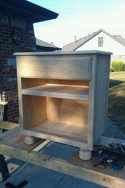 Custom Made Small Side Table/Cabinet