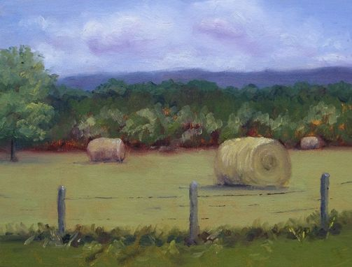 Custom Made Art, Painting (Hay Harvest)