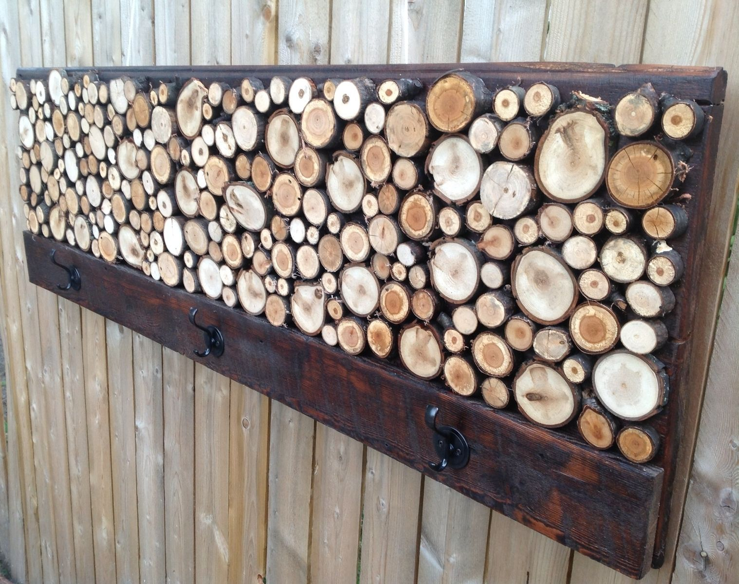 Custom Rustic Wood Coat Rack Towel Rack By Reclaimed Layne