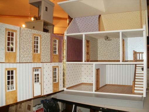 "Custom Made The ""Farmstead"" Dollhouse"