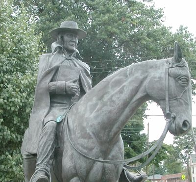 Custom Made Bronze Methodist Circuit Rider | Life Size Sculptures & Statues - Pure Cast Bronze