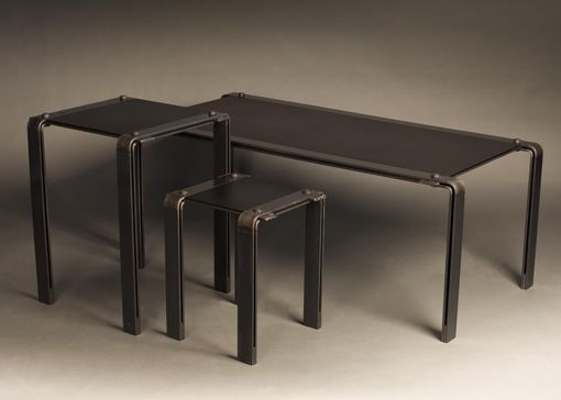 Custom Made Black On Black Tables