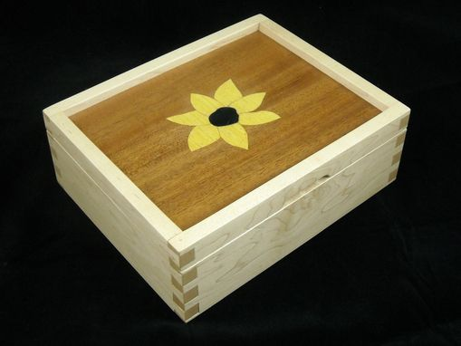 Custom Made Sunflower Box
