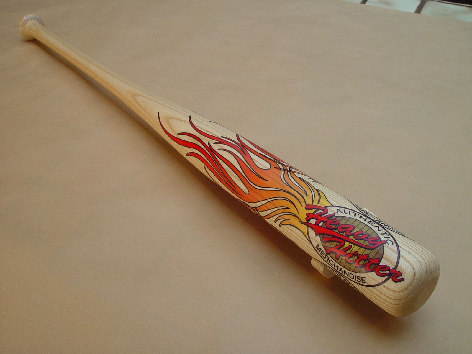 Handmade Hand Carved And Lasered Baseball Bat by Green Tree