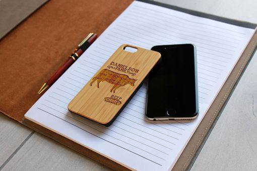 Custom Made Custom Engraved Wooden Iphone 6 Case --Ip6-Bam-Danielson Family Beef Chart
