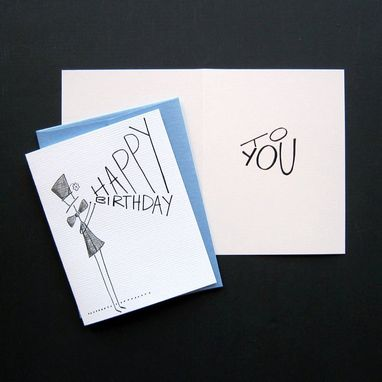 Custom Made Happy Happy Birthday Greeting Card Set
